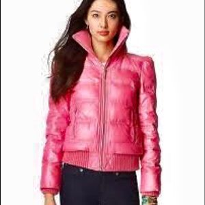 Juicy couture pink puffer